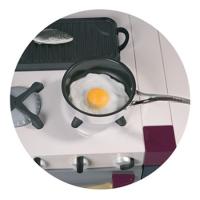 Кафе Бермудский Треугольник - иконка «кухня» в Троицком